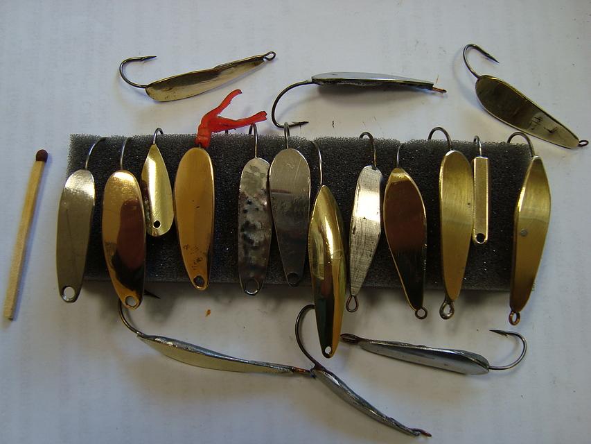 Блёсны для зимней рыбалки своими руками