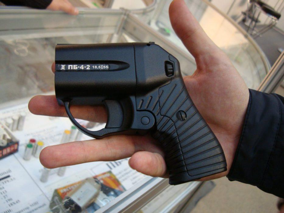 обзор пистолета оса