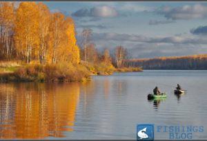 где ловить осенью