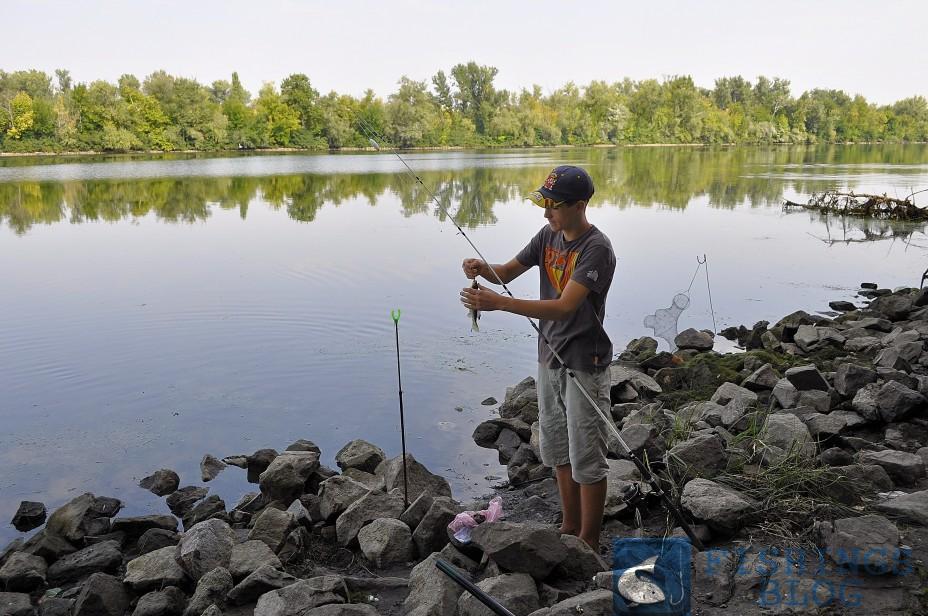 рыбалка на течении