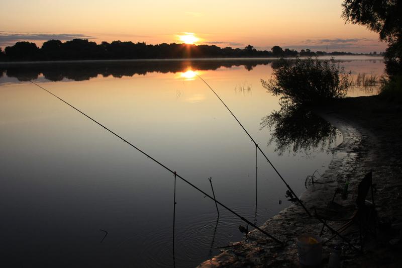 рыбалка ночью на реке