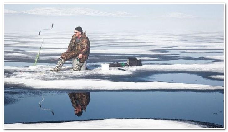 ловим по последнему льду