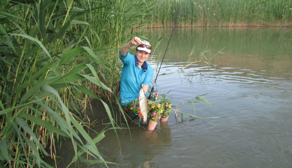 рыбалка на на реке сал