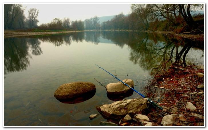 рыбалка весной на озере