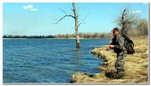 рыбалка на волге в марте