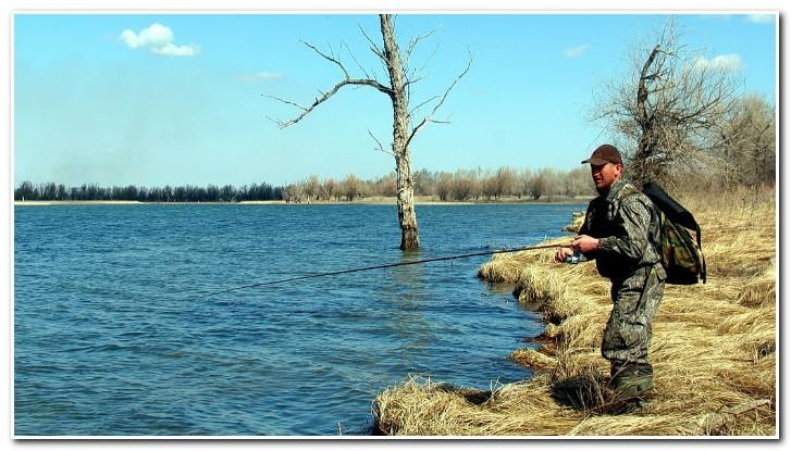 Рыбная ловля на волге