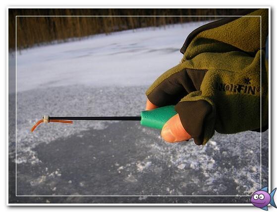 ловля зимой на удочку с мормышкой