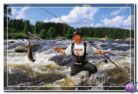 горная рыбалка в финляндии